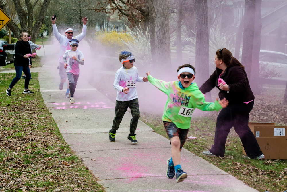 Charity Ball color run