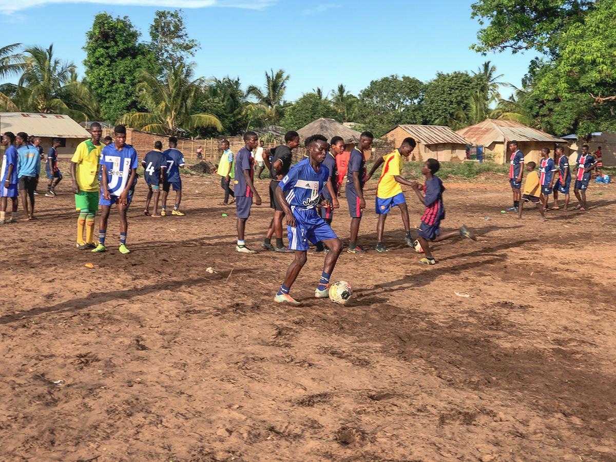 CB Mozambique soccer clinic