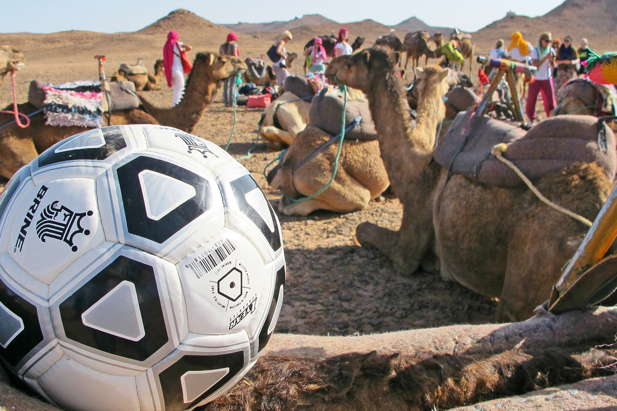 Charity Ball hand delivers new soccer balls to kids around the world