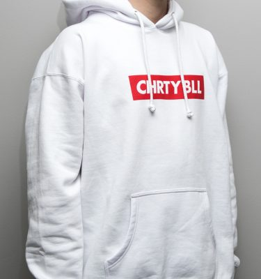 Charity Ball Cryptic Simply White Hoodie