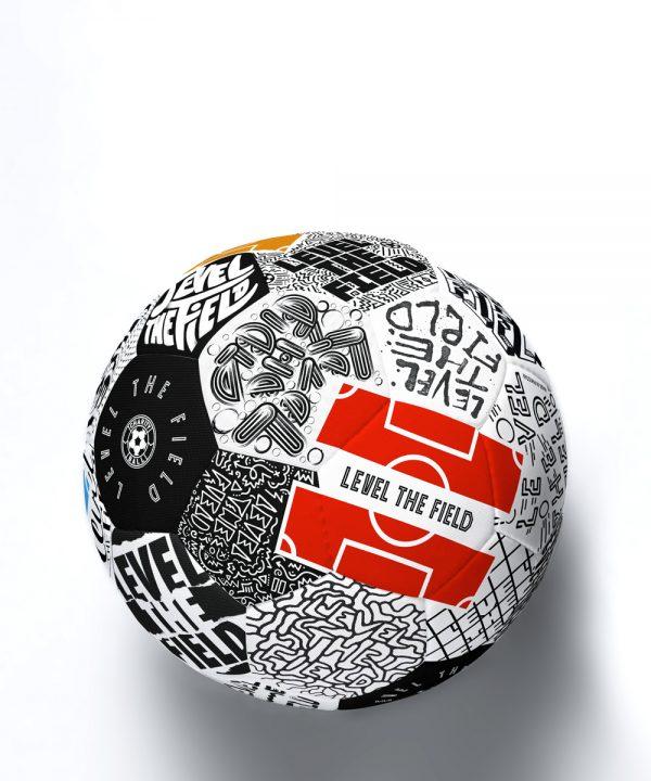 Charity BallxSelman Equalizer Soccer Ball