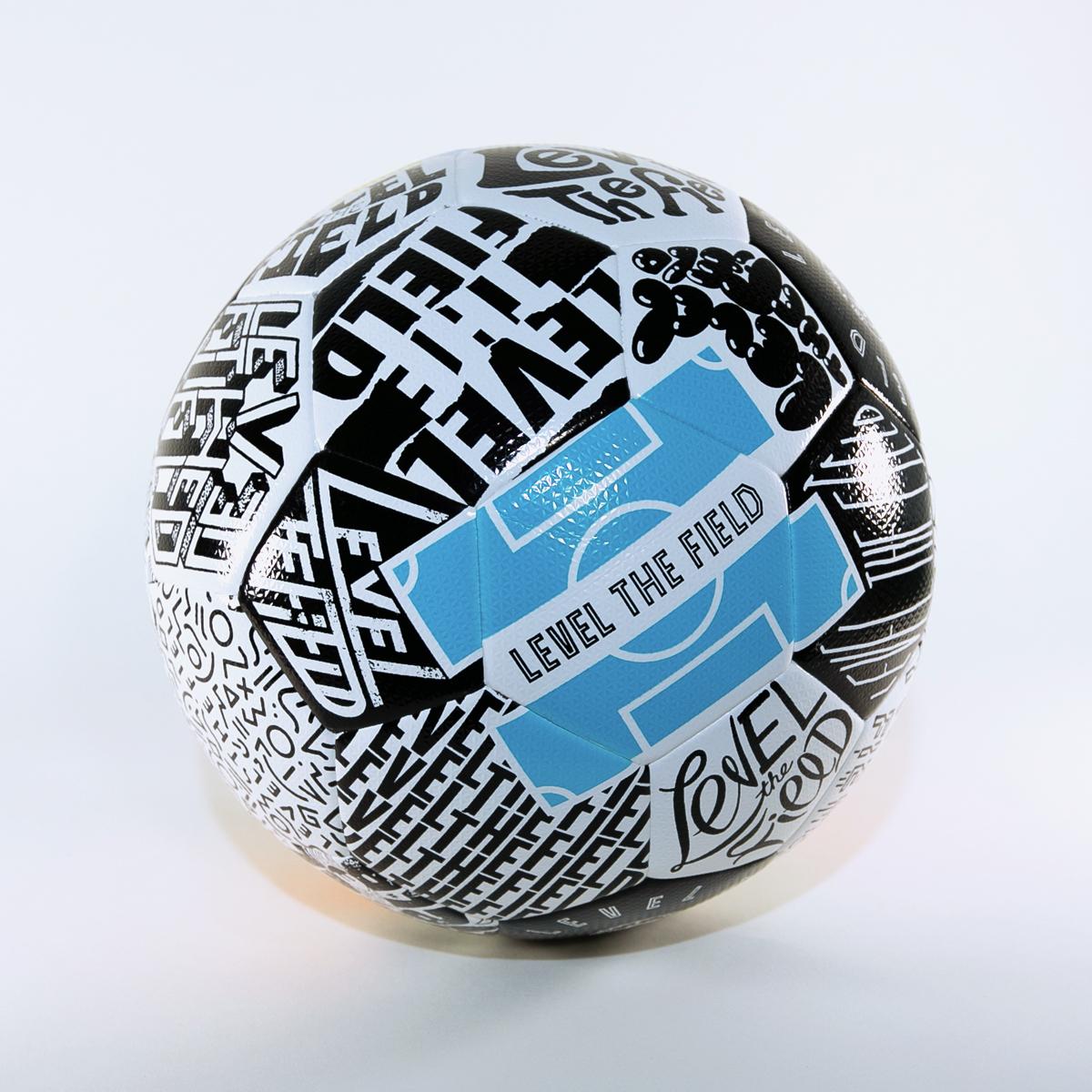 Charity Ball Selman Design Level The Field Soccer Ball