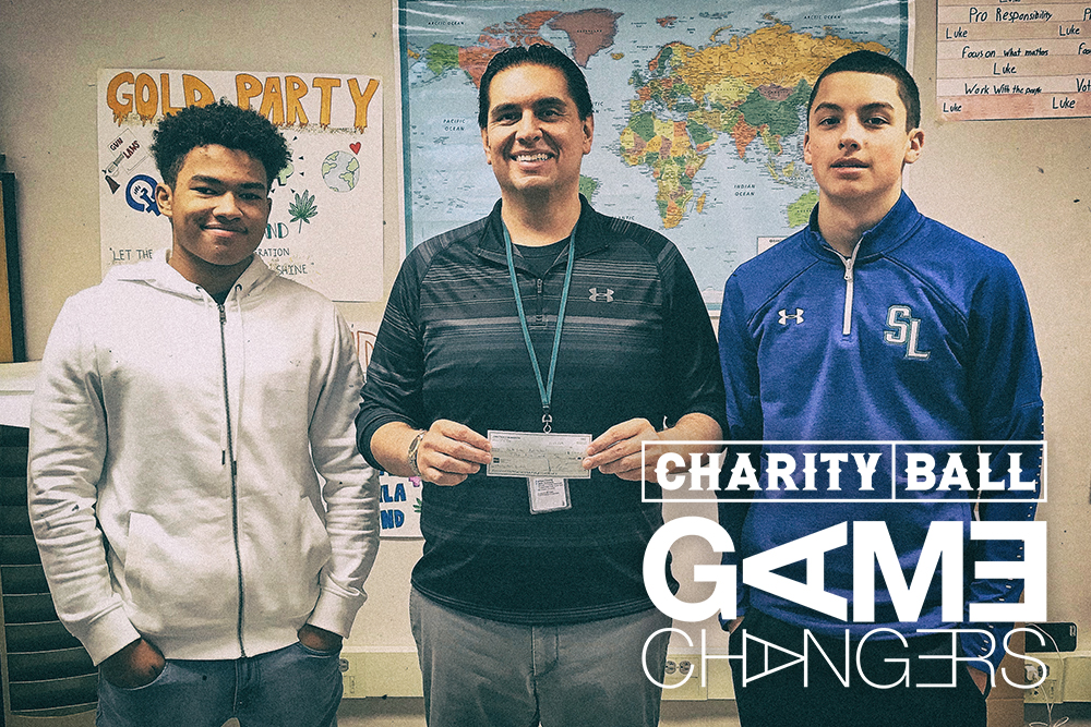Charity Ball Game Changers from South Lakes High School, Reston VA