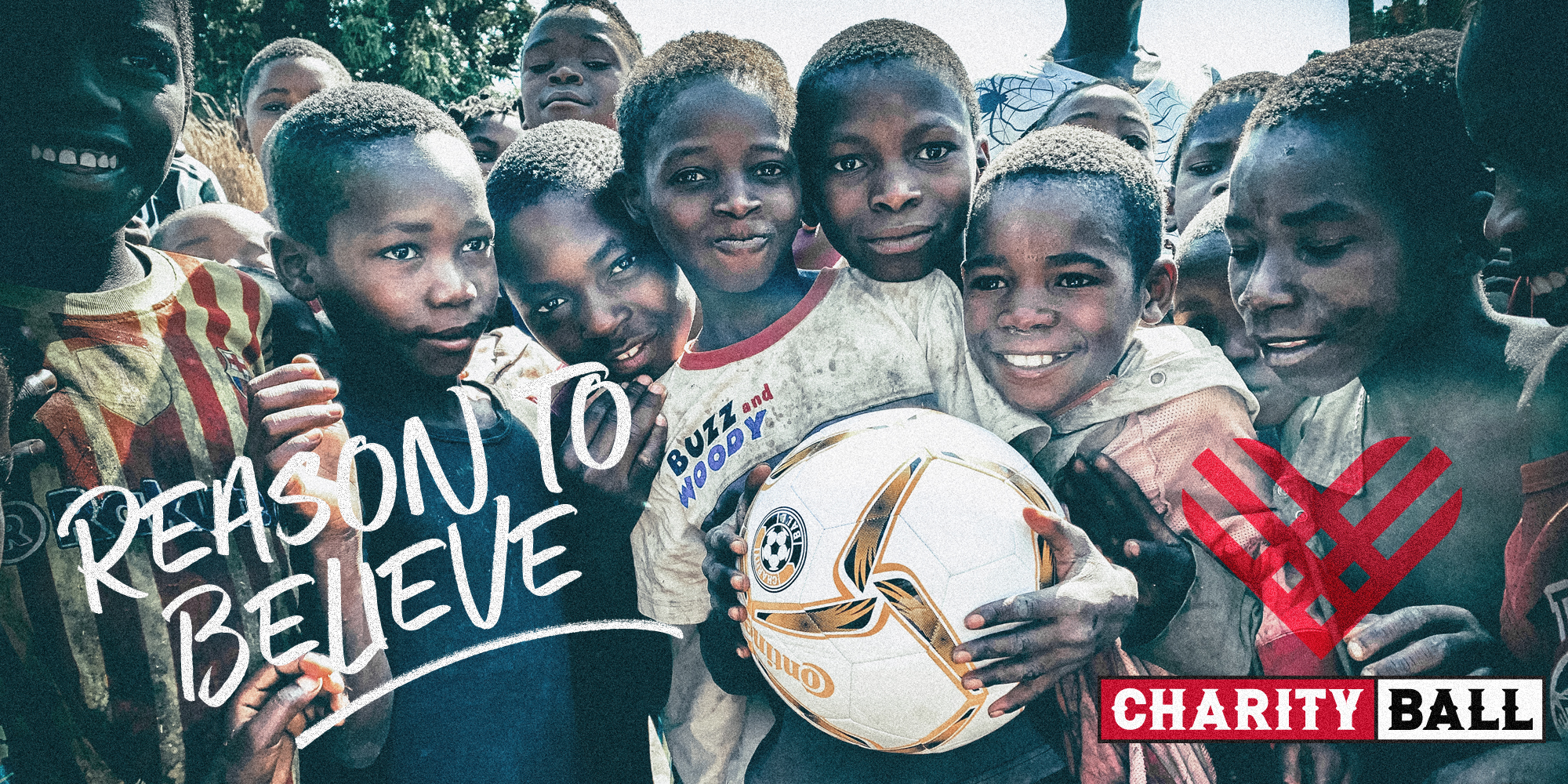 Give Kids a Reason To Believe with soccer + clean drinking water