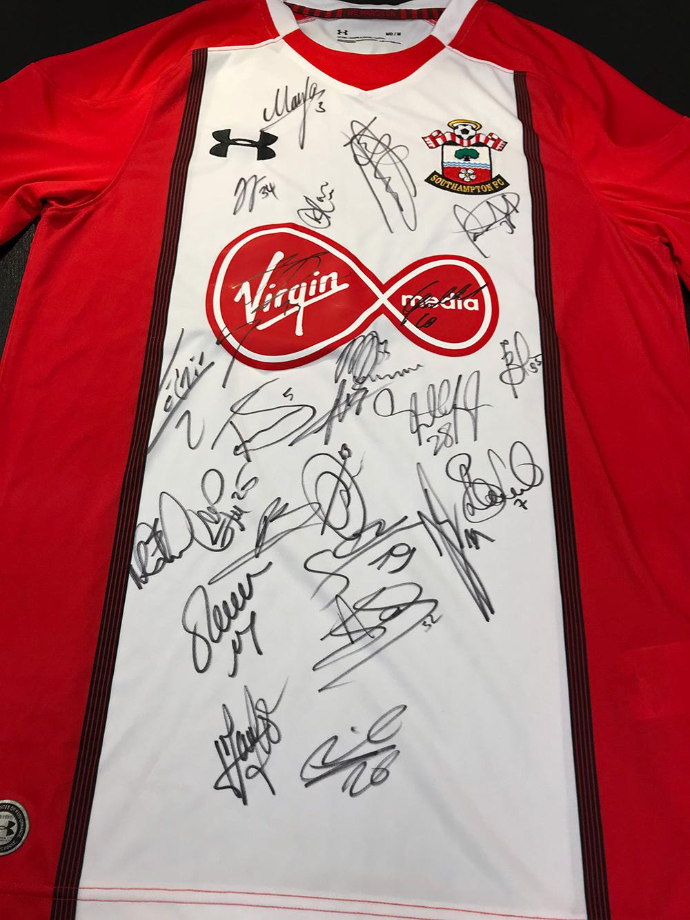 Southampton Signed Jersey