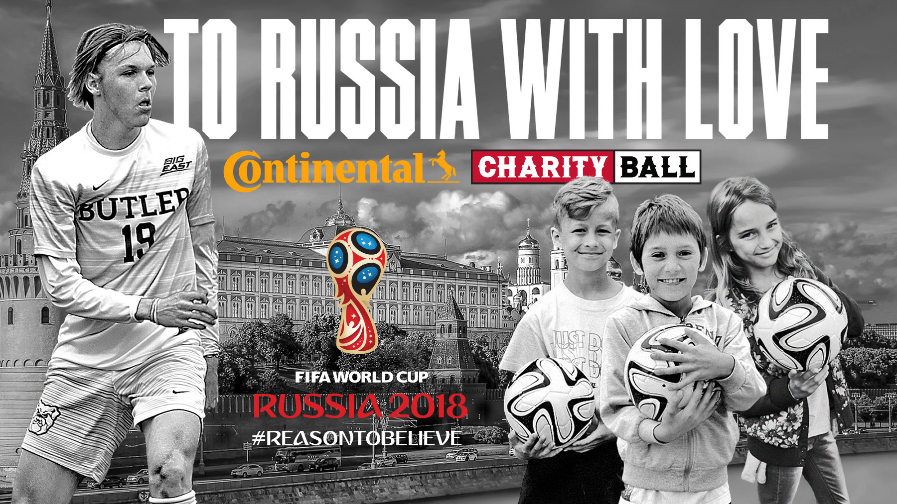 Charity Ball heads to Russia to hand-deliver soccer balls